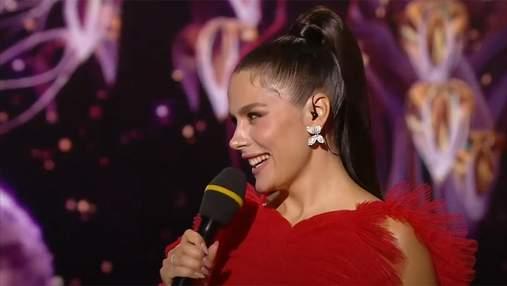 """Ведущая """"Танцев со звездами"""" Иванна Онуфрийчук провела эфир в платье от Dior"""