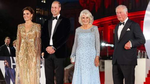 Розкішна сукня Кейт Міддлтон належить до ексклюзивної колекції 007 від Jenny Packham