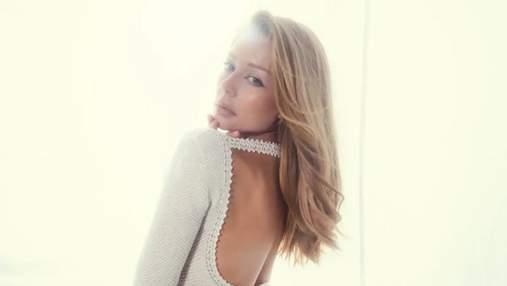 Тіна Кароль позує у сітчастій прозорій сукні з конопель: дивовижний образ