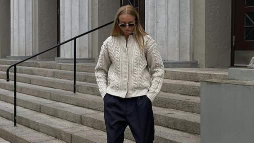 Головна покупка осені – стильні светри: гід наймоднішими моделями сезону