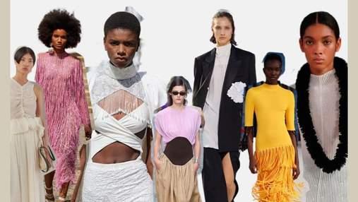Вырезы, корсетные топы и платформа: все, что надо знать о Неделях моды весна – лето 2022