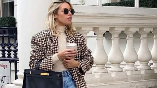 Как носить твидовые жакеты: модные советы на осеннюю пору