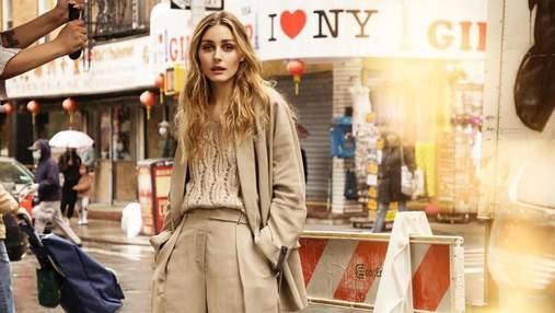 Оливия Палермо очаровала безупречным кремовым образом для Elle Сroatia: стильное фото