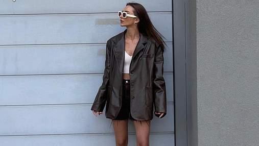 Кожаный жакет – маст-хэв осеннего гардероба: 7 стильных образов