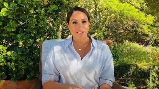 С часами принцессы Дианы: Меган Маркл сняла видео для детского ютуб-канала