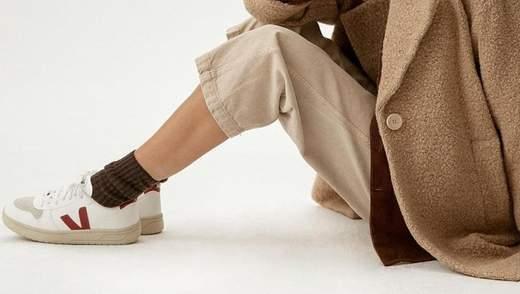 Найстильніше взуття весни – екокеди Veja: як їх носять модниці інстаграму